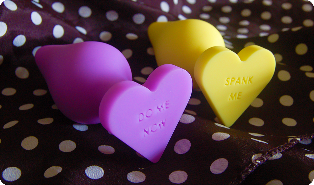 Blush Novelties Naughty Candy Heart Plug