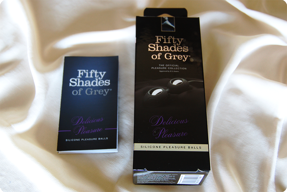 Fifty Shades of Grey Delicious Pleasure Silicone Ben Wa Balls Review 5