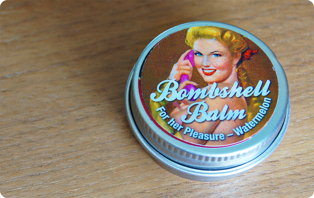 Pin Ups Jayne Bombshell Orgasm Balm Watermelon Review