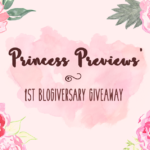 First Blogiversary Giveaway!