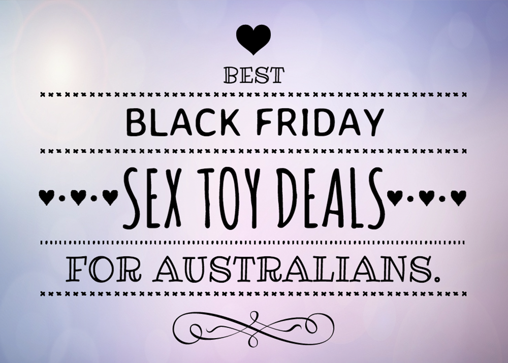 Best Black Friday Sex Toy Deals for Australians