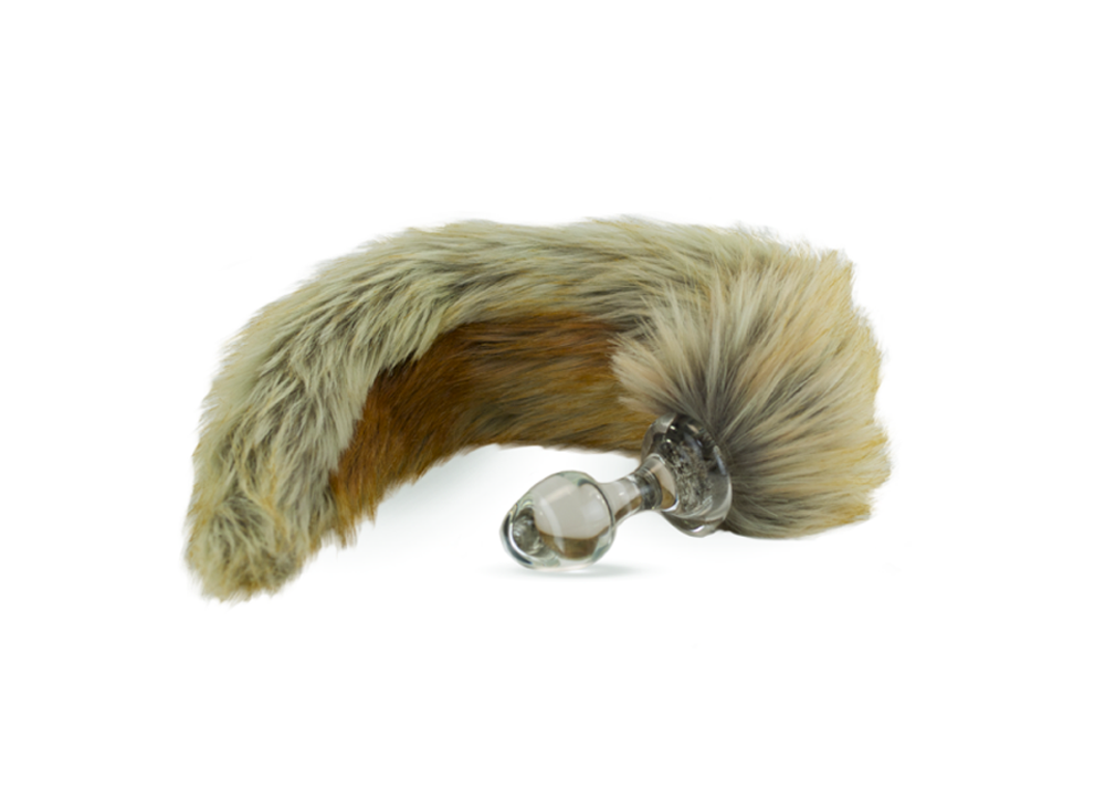 Valentine's Day Giveaway - Crystal Delights Red Fox Faux Fur Plug
