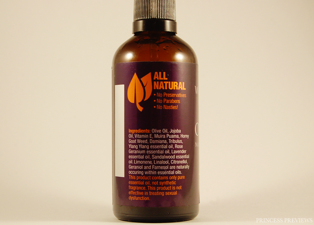Wildfire All Over Pleasure Oil and Mood Mist