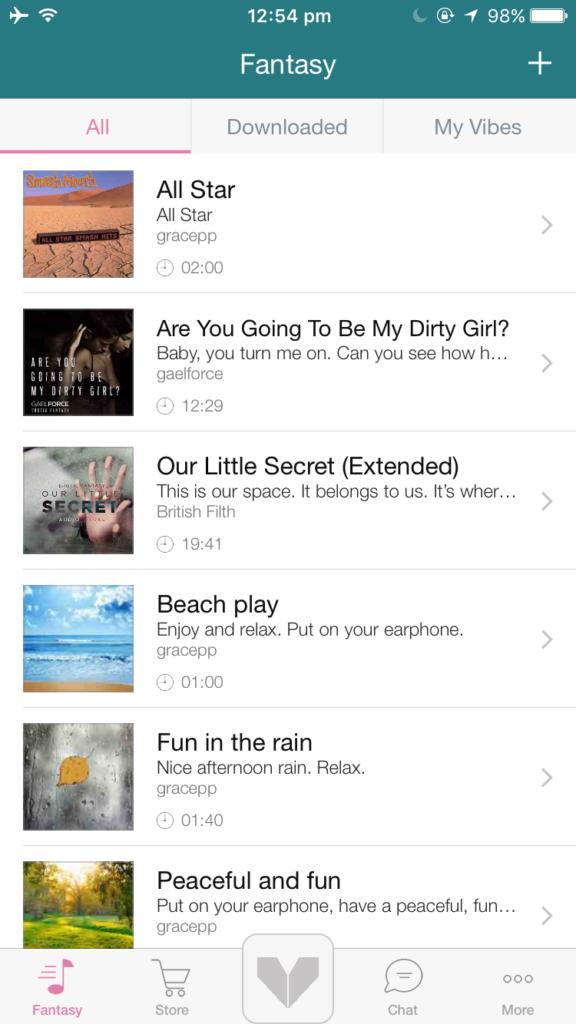 Vibease App Fantasies