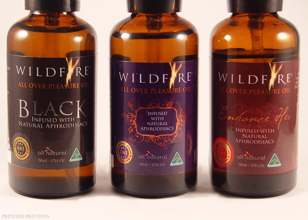 Wildfire All Over Pleasure Oils