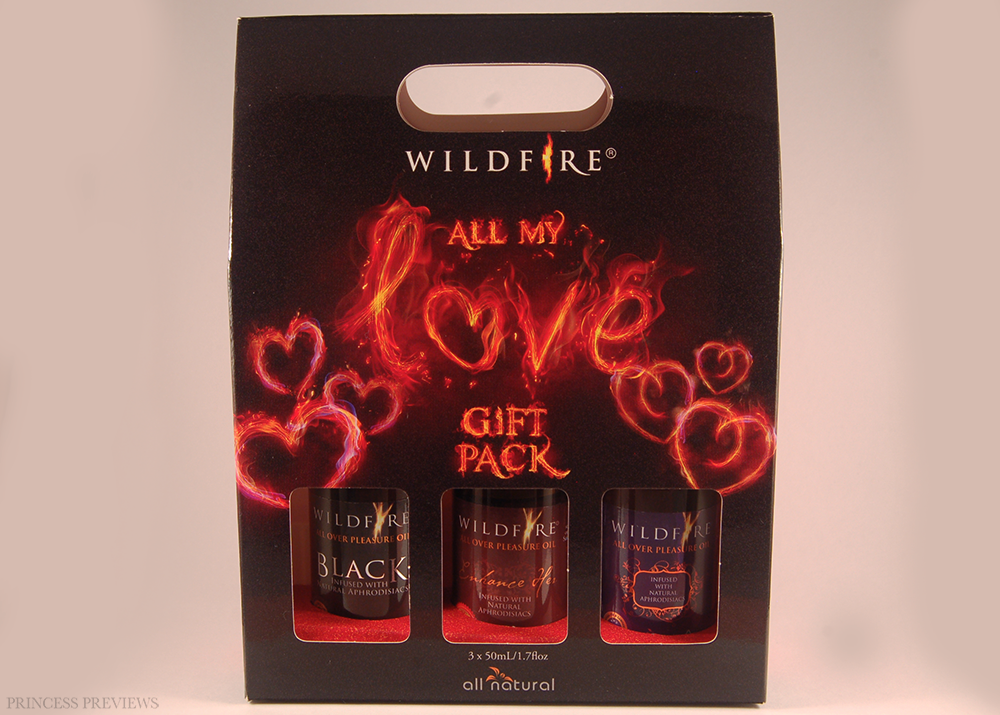 Wildfire All Over Pleasure Oil All My Love Gift Pack