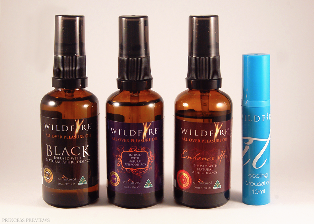 Wildfire All Over Pleasure Oil & Arousal Oil